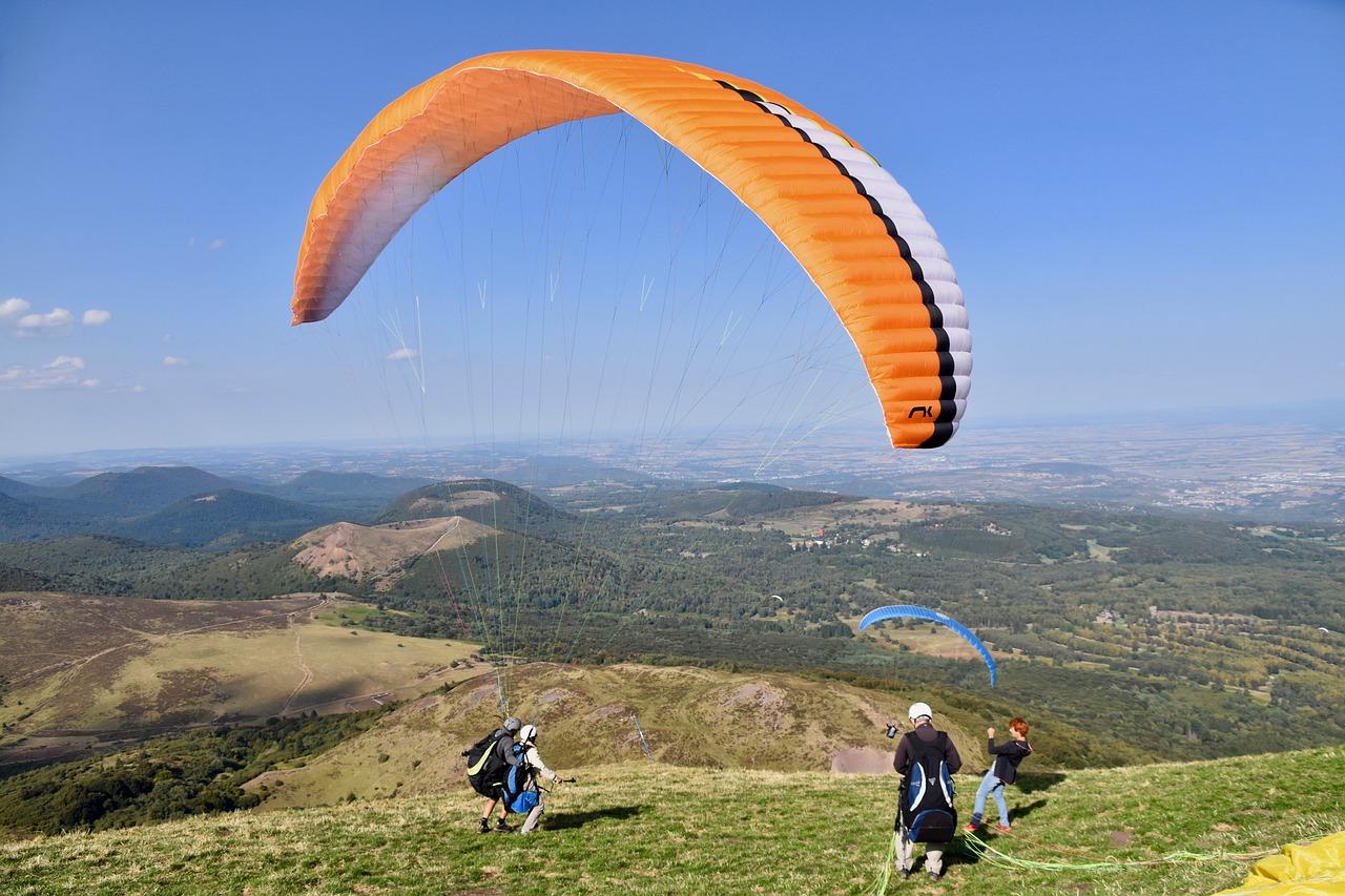 Faites du parapente au Puy-de-Dôme