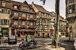 Les édifices historiques à Colmar