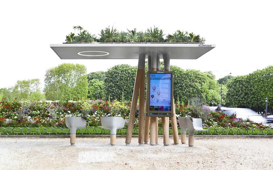 Et si le mobilier urbain connecté était le visage de demain des centres-villes