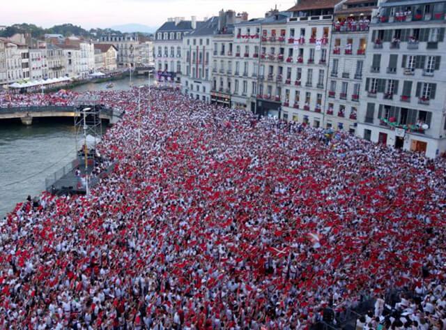 Les fêtes de Bayonne du 24 au 28 juillet