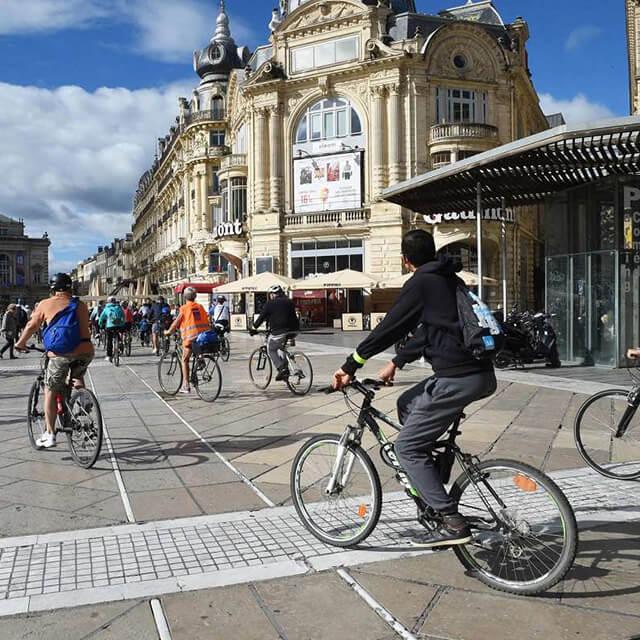 Les Transports à Montpellier